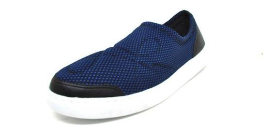 Sapatos Femininos Tenis Slipper Ortopedico Azul Dani K