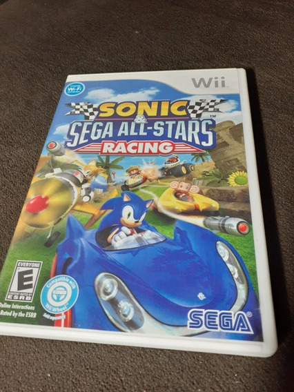 Sonic Sega All Stars Racing Wii Mídia Física Original