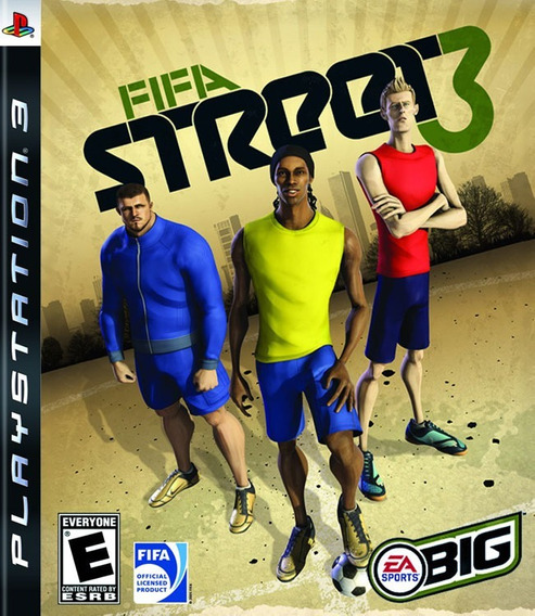 Jogo Fifa Street 3 Playstation 3 Ps3 Mídia Físi Frete Grátis