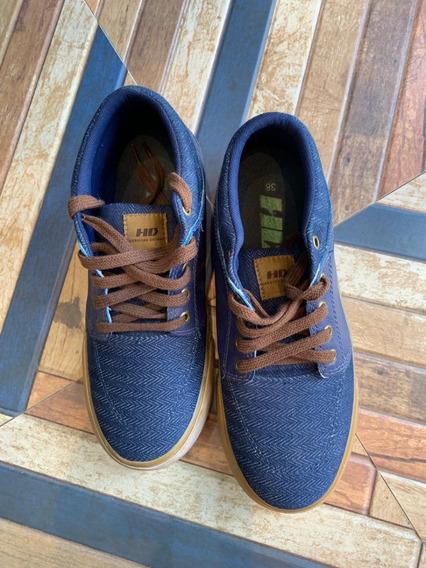 Tênis - H D - Azul Jeans