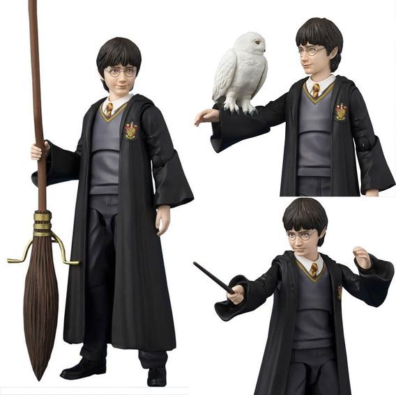 Harry Potter E A Pedra Filosofal Sh Figuarts Bandai Original