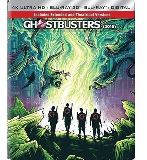 Ghostbusters 4k Bluray (2016)