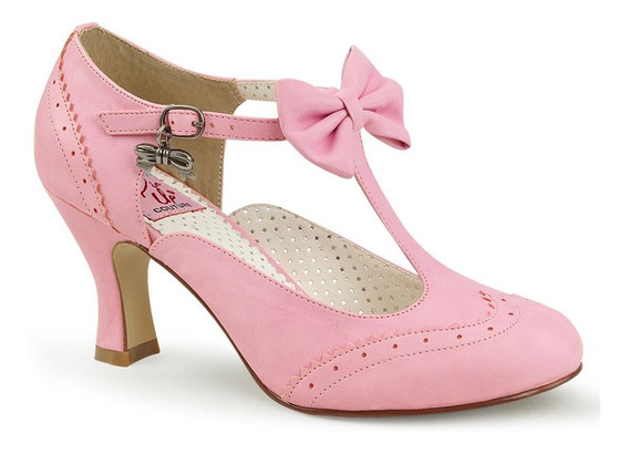 Zapatillas Pinup By Pleaser Modelo Flapper-11 Vintage