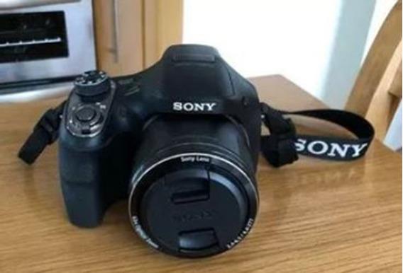 Cámara Sony Dsc H-400 +funda +memoria 32gb Kingston +trípode