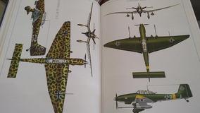 Livro Aviões Combate Ii Guerra Mundial Ilustrado