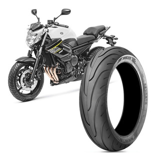 Pneu Moto Yamaha Xj6 Technic 160/60-17 69v Traseiro Stroker