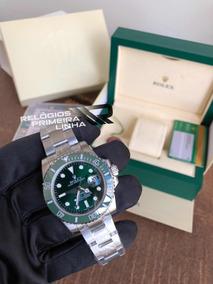 Rolex Submariner Verde Hulk Com Caixa E Documentos