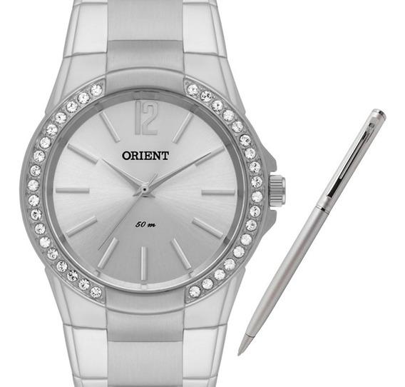 Relógio Orient Feminino Fbss0043 S2sx + Brinde Caneta Crown
