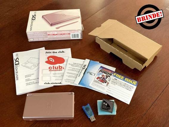Console Nintendo Ds Lite - Brinde R4 + Carregador Extra!