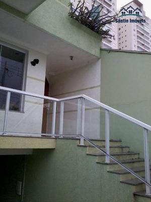 Sobrado Com 3 Dormitórios(01 Suíte ) 05 Vagas ,churrasqueira À Venda, 245 M² Por R$ 950.000 - Jardim Portugal - São Bernardo Do Campo/sp - So0260