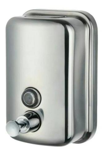 Dispensador De Jabon Liquido De 500 Ml En Acero Inoxidable