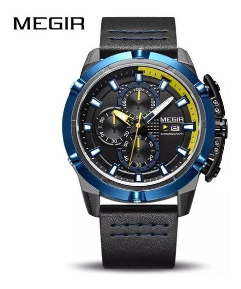 Relógio Masculino Megir 2062 100% Original