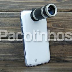 Kit Lente Telescópica Samsung Note Ii N7100 Zoom 8x Com Case