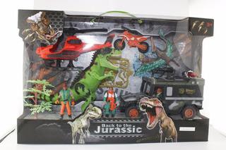 Dinosaurios 4 Figuras Play Set 1 Con Accesorios En Caja