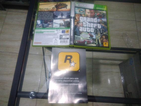 Caixa Original Gta Iv Xbox 360