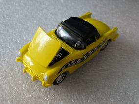 63 Corvette Amarelo - Racing Champions - 1:64 Loose Borracha