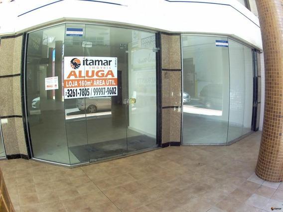 Loja Para Alugar, 161 M² - Centro - Guarapari/es - Lo0309