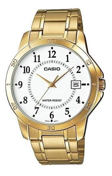 Reloj Casio Ltp V004g 7b Dama/ligero/moderno 100% Original