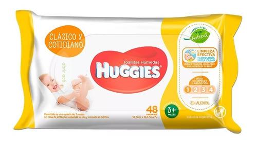 Huggies Wipes Clasico 48 Toallitas Humedas X 30 Paquetes