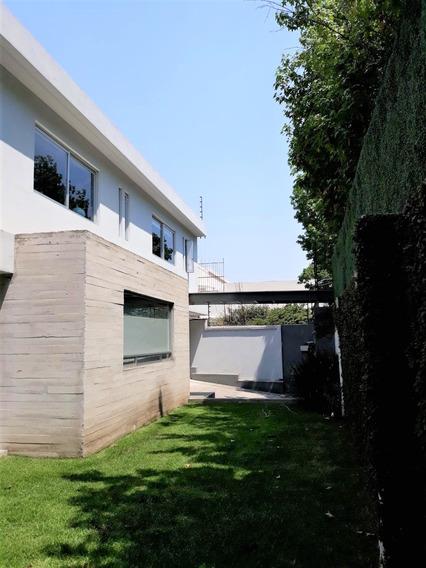 Preciosa Casa Con Jardín Venta En Lomas De San Angel Inn