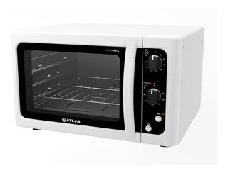 Forno Elétrico Atlas 44 Litros Com Grill Dourador Branco