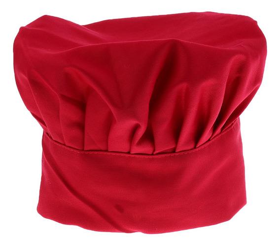 Sombrero Gorro De Cocinero Chef Adulto Elástica Panadero