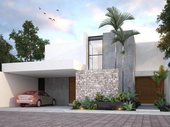 Casa En Venta En Merida, Privada Residencial Barlovento, Temozon Mod.b