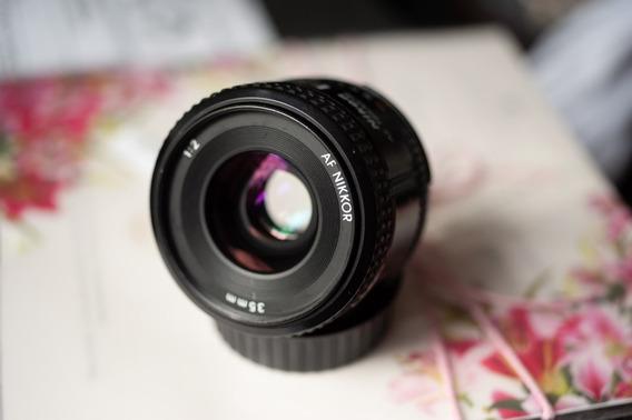 Nikon 35mm F2d 35mm D Impecável Compativel D700 D750 Fm2