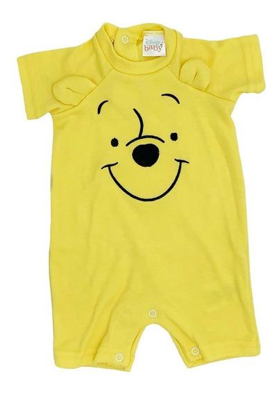 Pañalero Algodon Bordado Disney Winnie Pooh