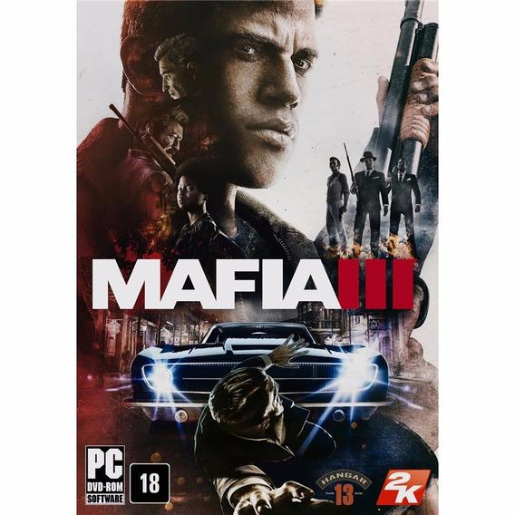 Mafia Iii Mafia 3 Pc Original 2016 Steam Cd Key Portugues