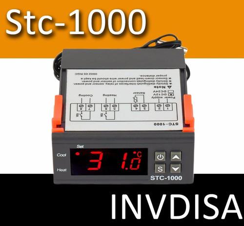 Imagen 1 de 2 de Controlador De Temperatura Termostato Stc1000