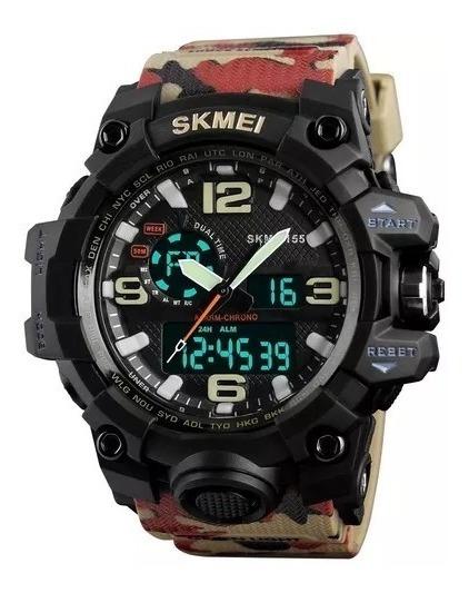 Relógio Skmei Original Modelo 1155 Camuflado Promoção