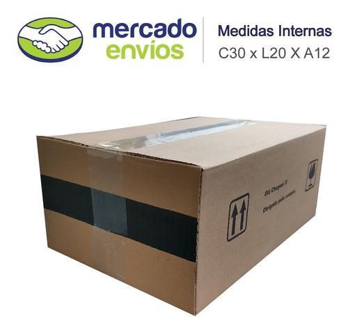 100 Caixas De Papelão 30x20x12 Correio Sedex Fabrica