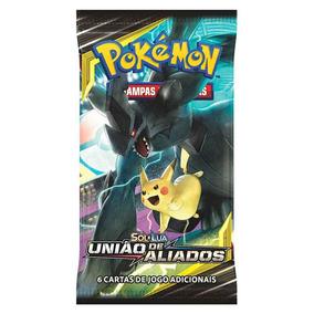 Cartas - Pokemon Sl9 Booster Uniao De Aliados - Zekrom E Pik
