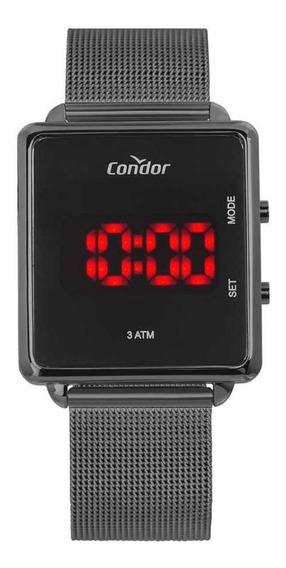 Relógio Condor Feminino Cojhs31bac/4c Led Digital Grafite
