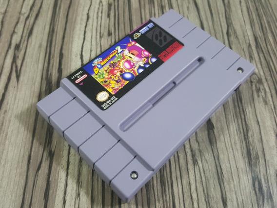 Super Bomberman 2 Original Repro Snes + Frete Gratis!!!!