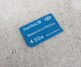 Memory Stick Pro Duo Sandisk 512mb Magicgate