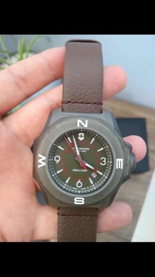 Relógio Victorinox Inox Titanium Novooo Oportunidade