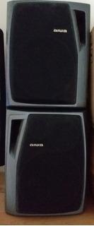 Minicomponente Aiwa Con Parlantes Aiwa Originales