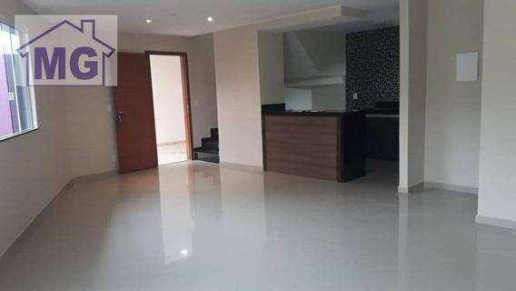 Casa Com 3 Dormitórios À Venda, 130 M² Por R$ 420.000,00 - Jardim Guanabara - Macaé/rj - Ca0219