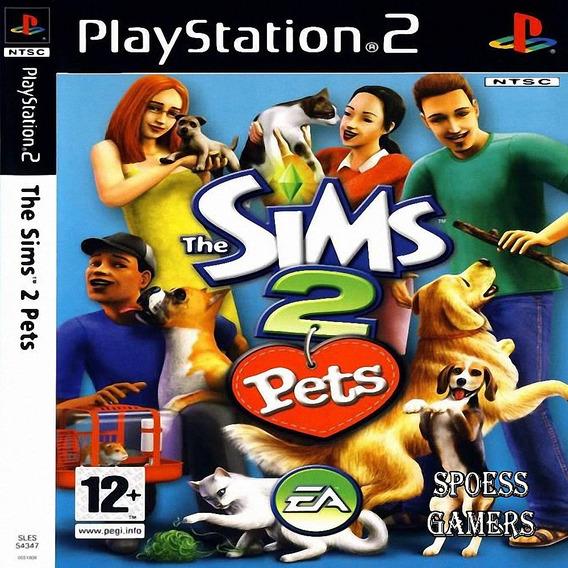 The Sims 2 Pets Ps2 Patch Simulação De Vida + Dog