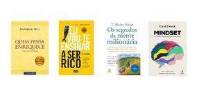 Pacote 4 Audiobooks - Melhores Audiobooks Para Ficar Rico