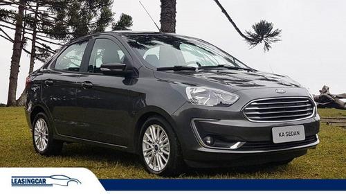 Ford Ka Sel + Sedán Extra Full 2020 0km