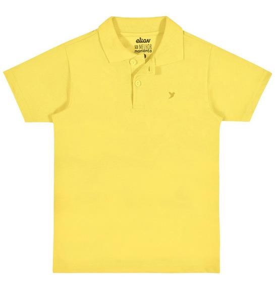 Camisa Polo Infantil Elian Pique