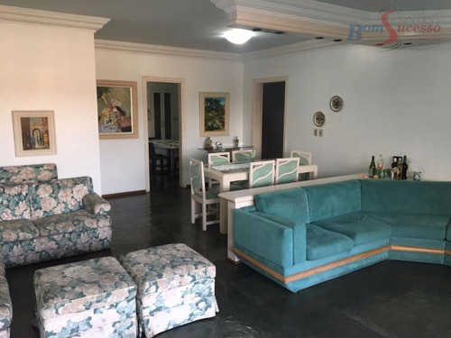 Imagem 1 de 30 de Apartamento Com 4 Dormitórios À Venda, 195 M² Por R$ 600.000,00 - Enseada - Guarujá/sp - Ap0067