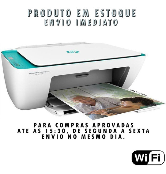 Impressora Multifuncional Hp 2675 Wifi - Copiadora E Scaner