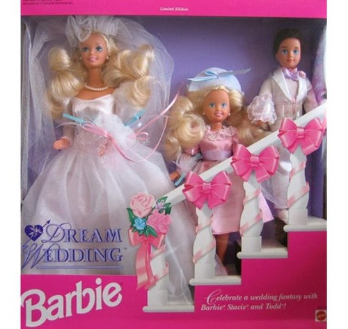 Imagen 1 de 1 de Juego De Regalo De Bodas De Barbie Dream Con Barbie, Stacie