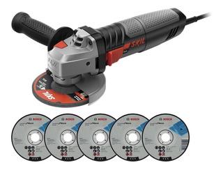 Amoladora Angular 115mm Skil 9004 830w 11000rpm + 5d Cuotas