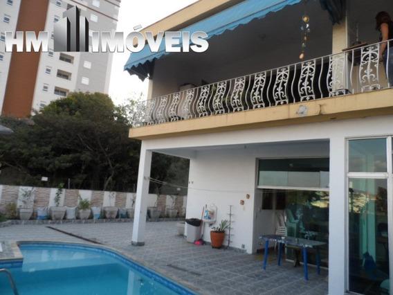 Casa Térrea Com 3 Suítes Na Vila Rosália Em Guarulhos - Hmv2064 - 32839204