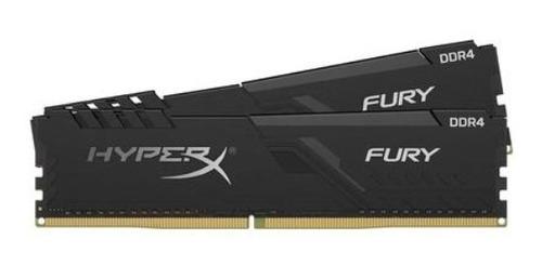 Imagem 1 de 2 de Memória Ram Ddr4 Hyperx Fury 32gb (2x16gb) 2666mhz